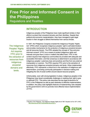 Fpic In The Philippines September 2013 By Bk Communications Issuu