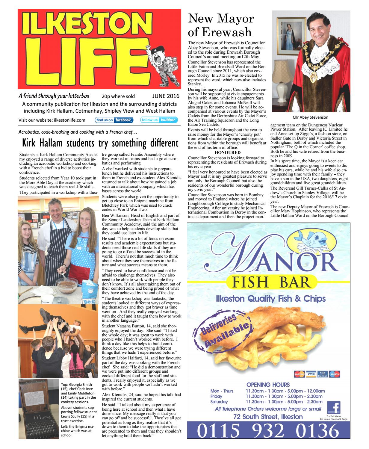 Ilkeston Life June 2016 newspaper by Ilkeston Life - issuu