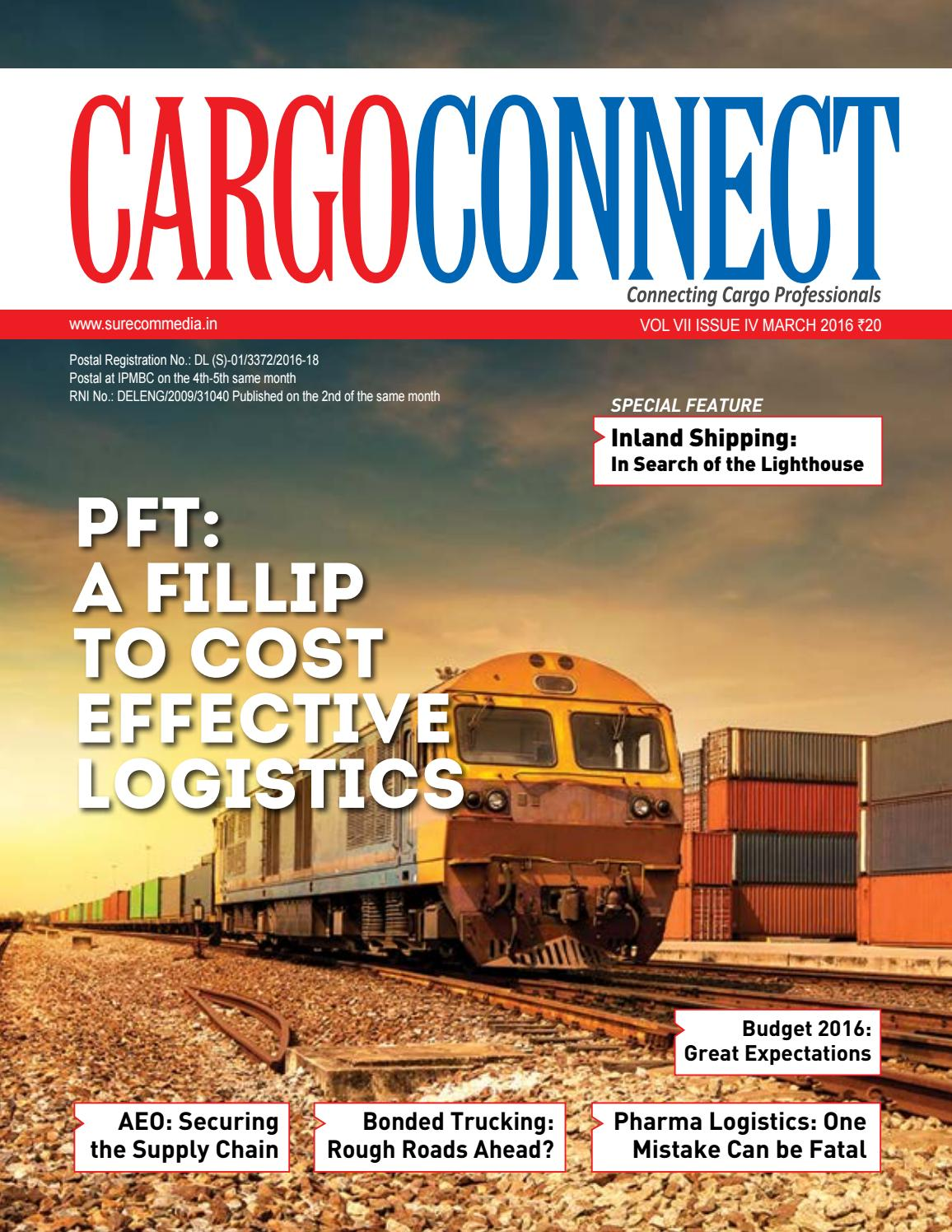CargoConnect March 2016 by Surecom Media - issuu