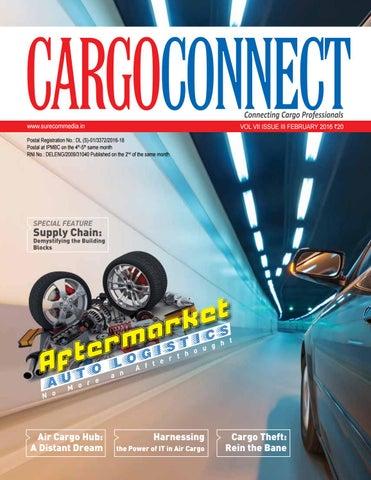 CargoConnect February 2016 by Surecom Media - issuu