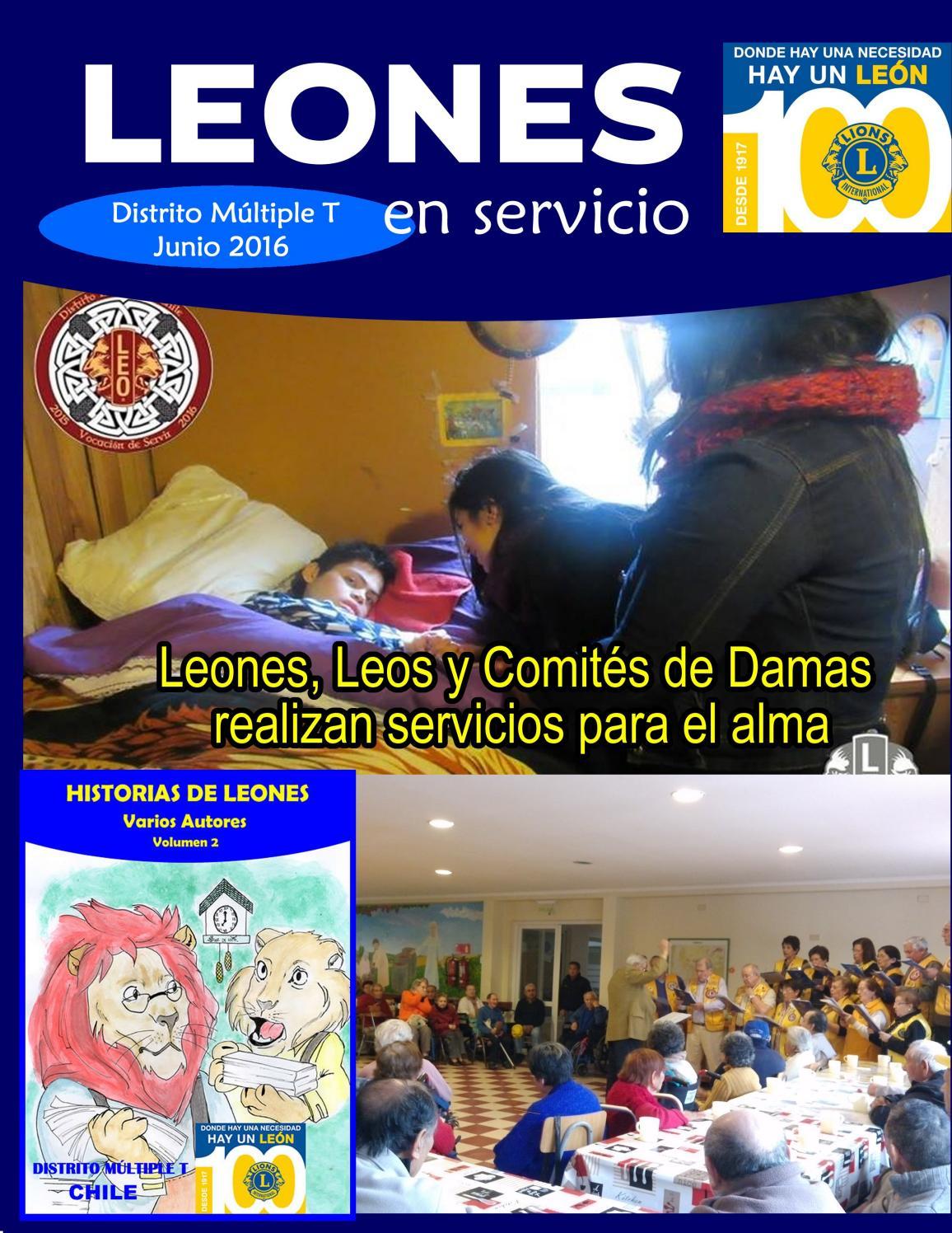 Revista Enero 2017 By Club Leones Issuu # Muebles Loa Sur Ancud