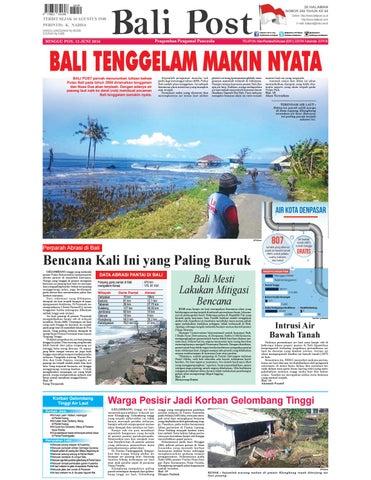 20 HALAMAN NOMOR 288 TAHUN KE 68 Online  http   www.balipost.co.id  http   www.balipost.com E-mail  balipost indo.net.id 1eb14cb1c3