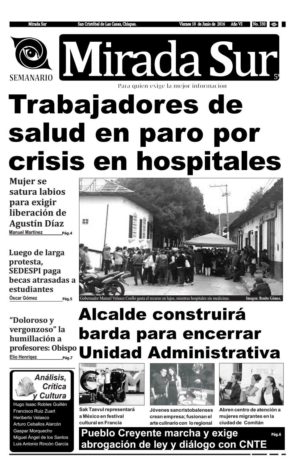 Trabajadores de salud en paro por crisis en hospitales by Mirada Sur ...