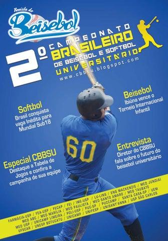 Revista do Beisebol by Wanderley Moreno - issuu e347e1e3962