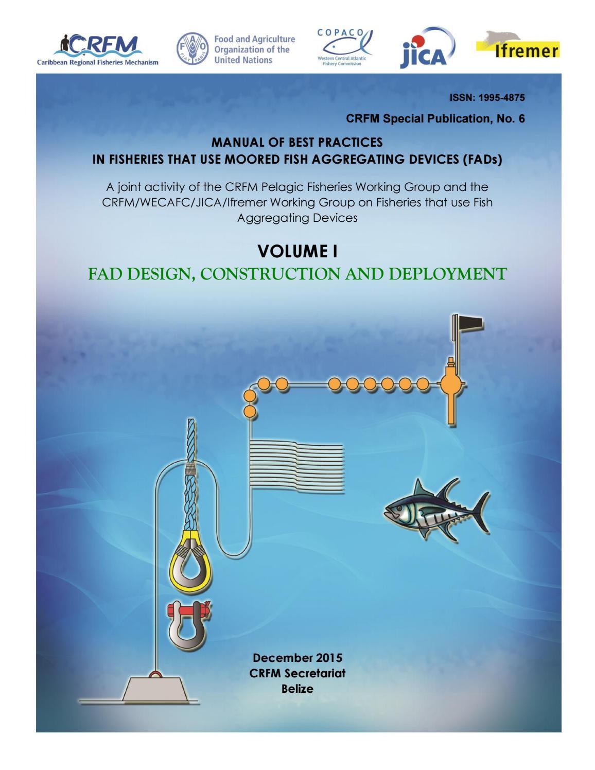 Fad Manual Vol I  Fad Design  Constructio And Deployment