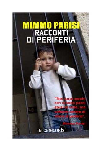 Racconti di periferia by Mimmo Parisi - issuu e9b16a50ba66