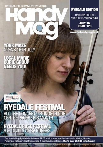 Page 1  sc 1 st  Issuu & Handy Mag Ryedale July16 by Moonriver Publishing Ltd - issuu