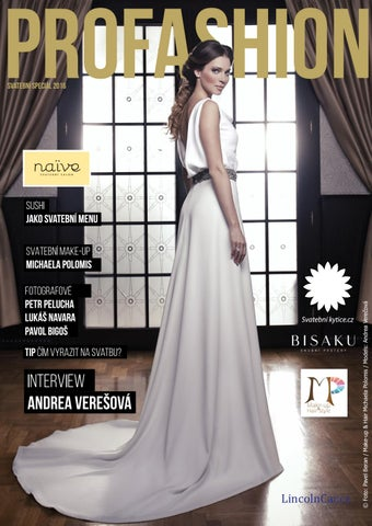 Profashion Svatebni Special 2016 By Byzmag Issuu