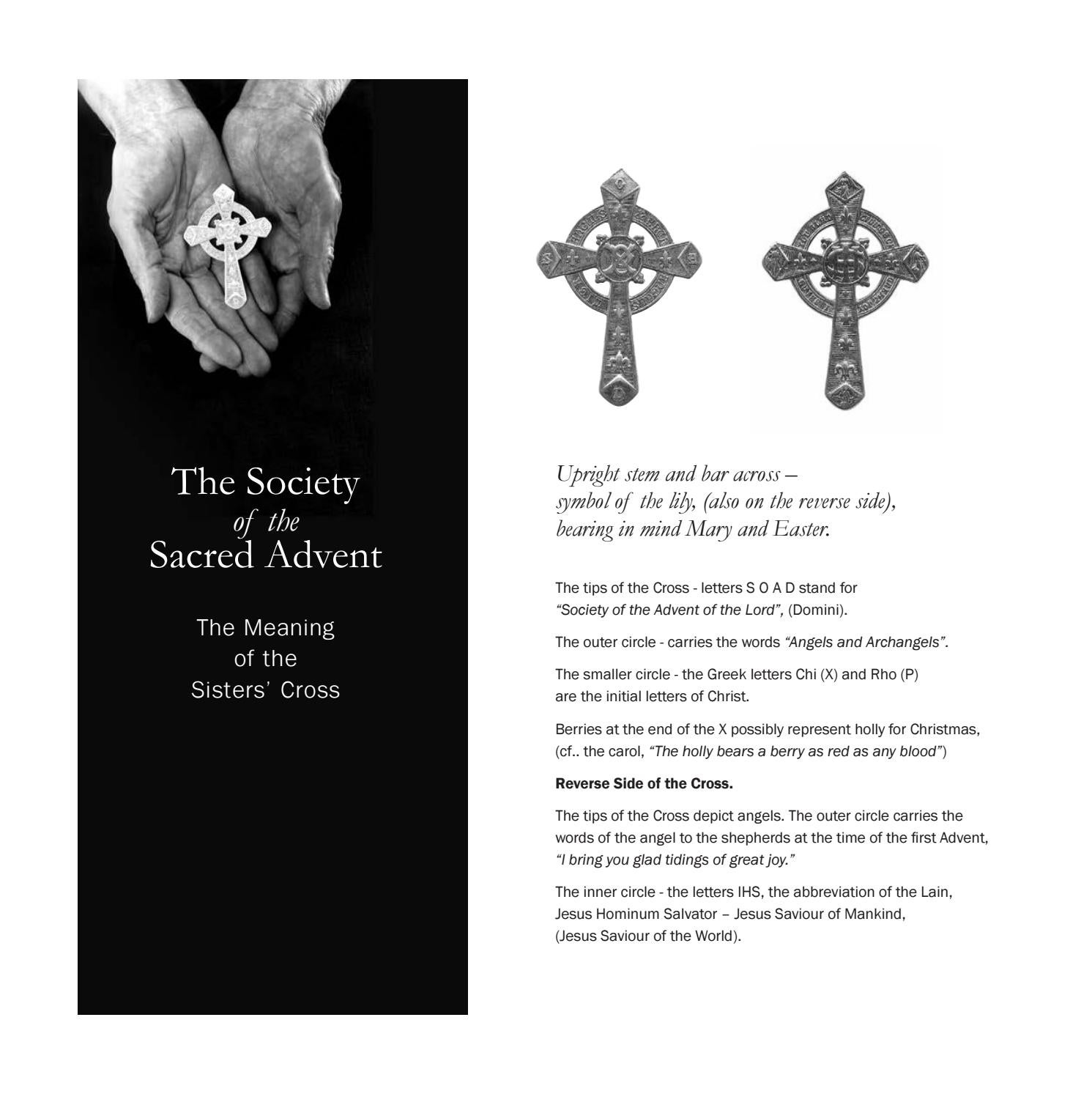 The Sisters Of The Society Of The Sacred Advent By St Aidans