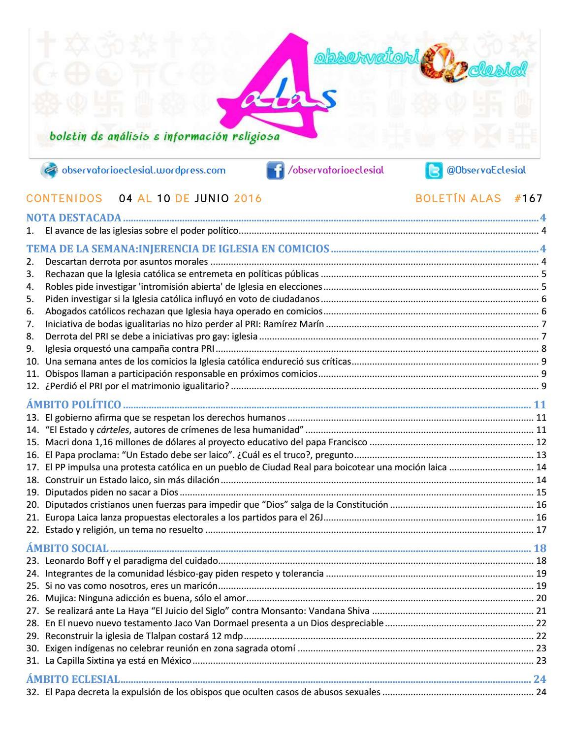 BOLETIN ALAS-OE 167 by Boletín Alas-OE - issuu