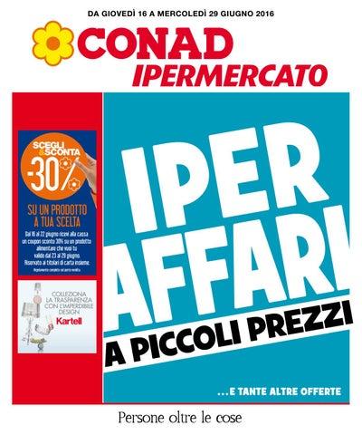 377e46bb37 Volantino offerte Conad Ipermercato di Torino dal 16 al 29 giugno ...