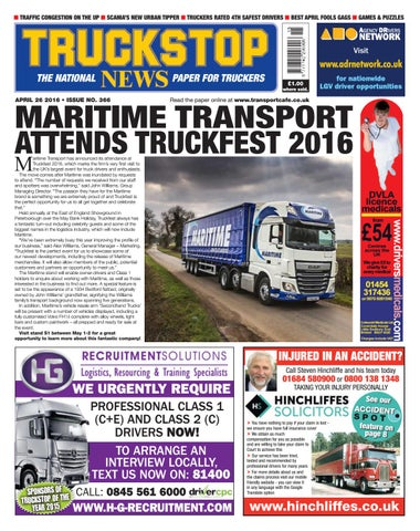 □□TRUCKERS STEER ON CAR □ STOBART DRIVERS □ UK ROADS RUINED? □ YOUR LETTERS □ BREAKTIME TRAFFIC CONGESTION THECONVOY UP □ SCANIA'S NEW URBAN TIPPER ...