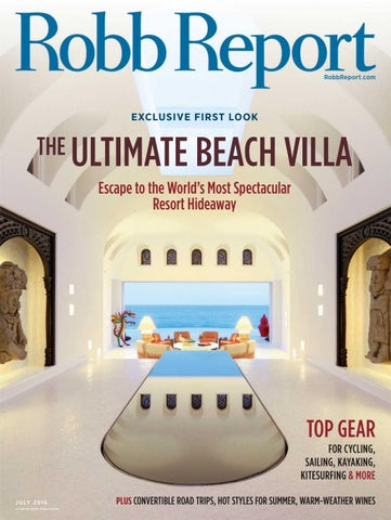 Robb report exceptional properties llc