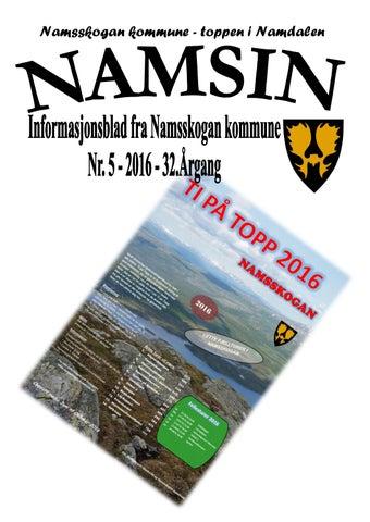 d05b6d8d Nam05 16 by Namsskogan kommune - issuu