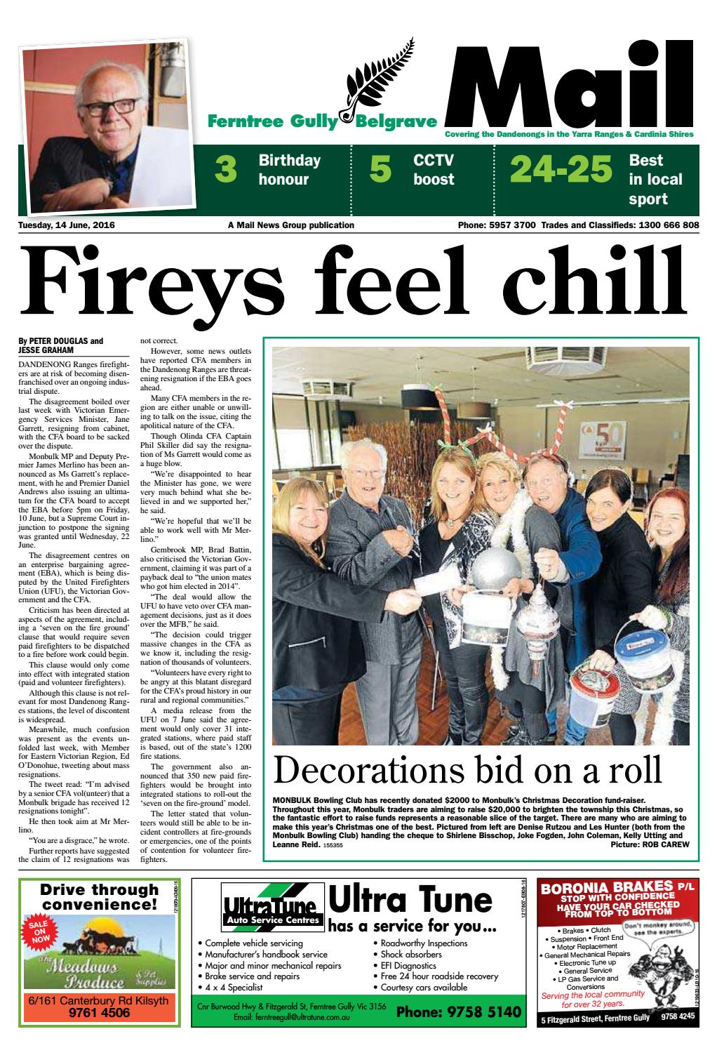 Mail - Ferntree Gully Mail - 14th June 2016 by Star News Group - issuu