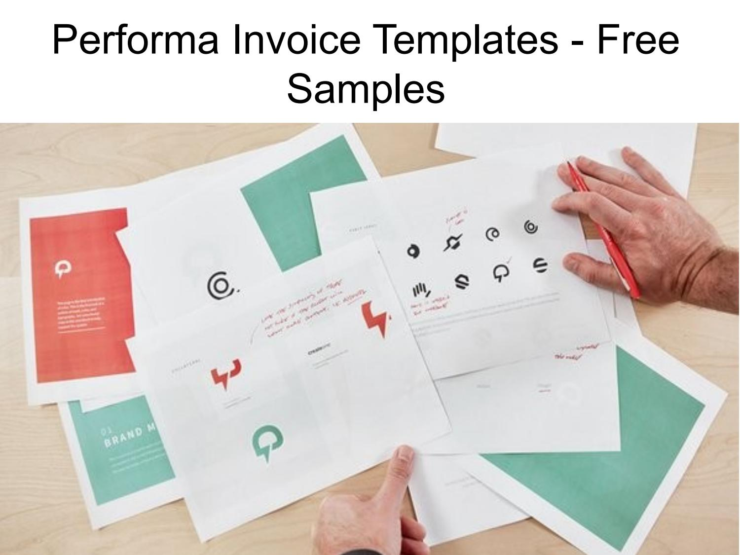 Performa Invoice Templates Free Download By Proforma Invoice Issuu