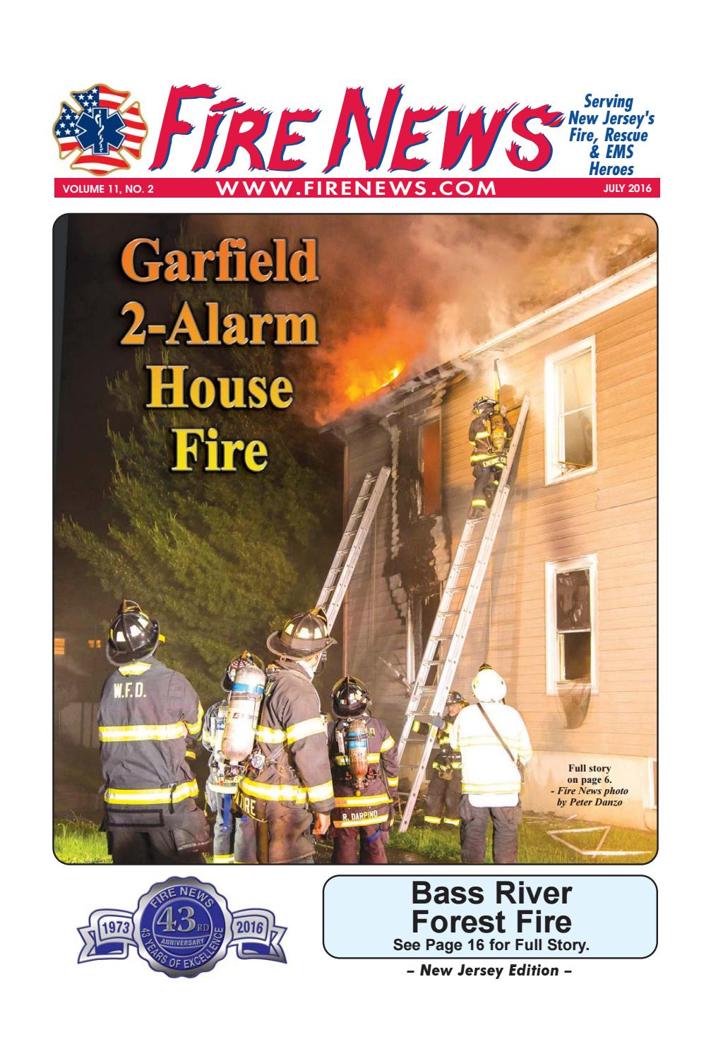 Fire News New Jersey 7 16 By Fire News Issuu