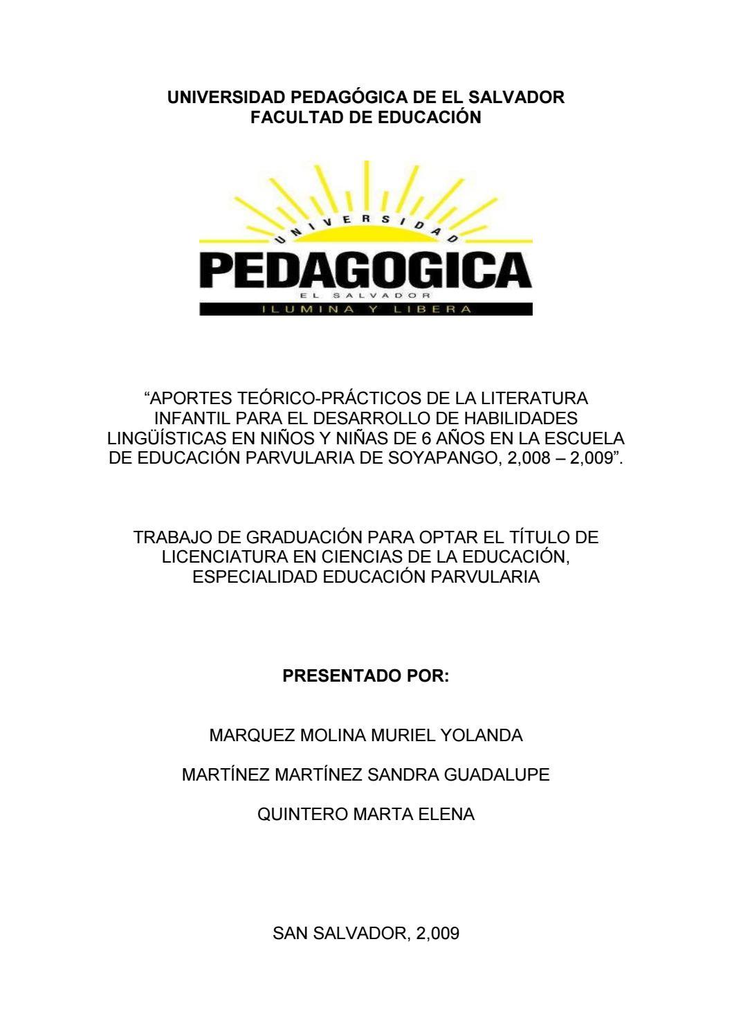 Aportes teórico prácticos de la literatura infantil para el ...