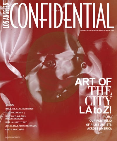 66d4a4777dfda Los Angeles Confidential - 2016 - Issue 3 - Summer - Art of the City -  Billy Al Bengston