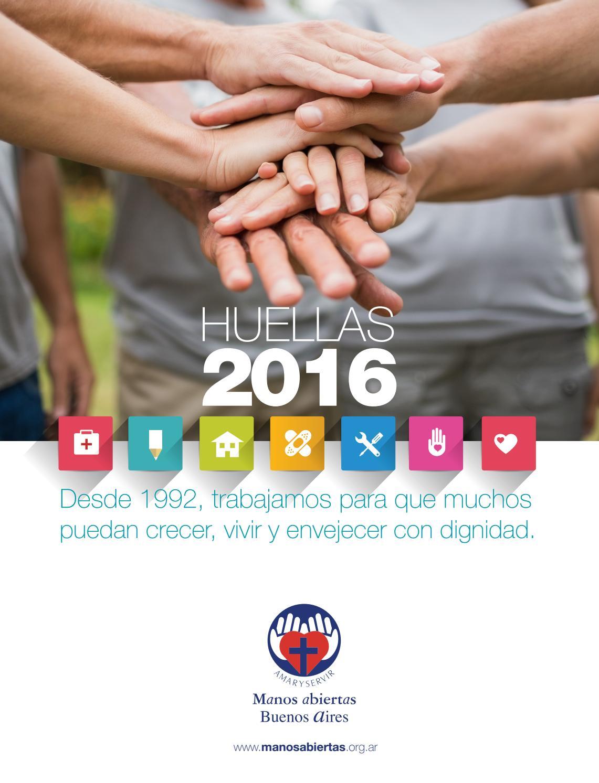 Huellas 2016 Manos Abiertas By Manos Abiertas Buenos
