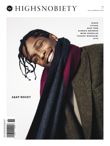 acc1f41fef0296 Highsnobiety Magazine 11 - Winter 2015 by HIGHSNOBIETY - issuu
