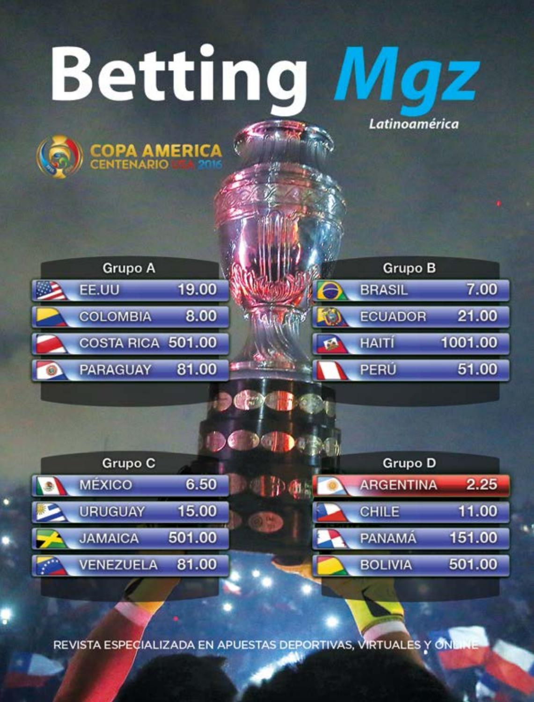 e8b093e40 Betting Mgz PGS 2016 by Latam Media Group - issuu