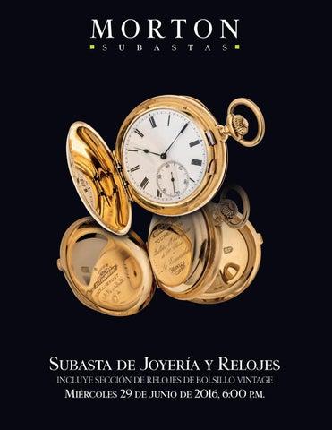 f9b2216f864c Subasta de Joyería y Relojes incluye sección de relojes de bolsillo vintage