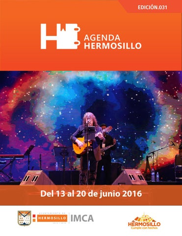 "Cover of ""Agenda hermosillo 13jun2016"""