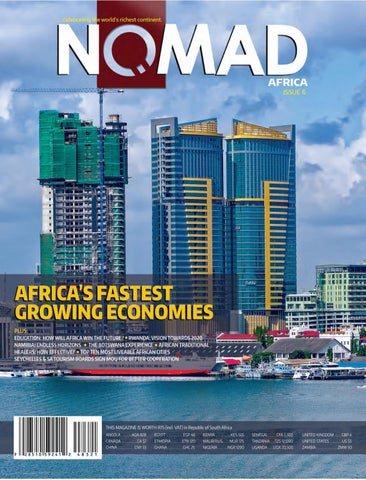 Nomad Africa Magazine Issue 6 July 2016 by Nomad Africa - issuu