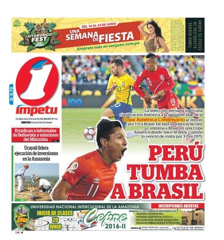 Impetu 13 de junio de 2016 by Diario Ímpetu - issuu 3fa73b3ee6ef6