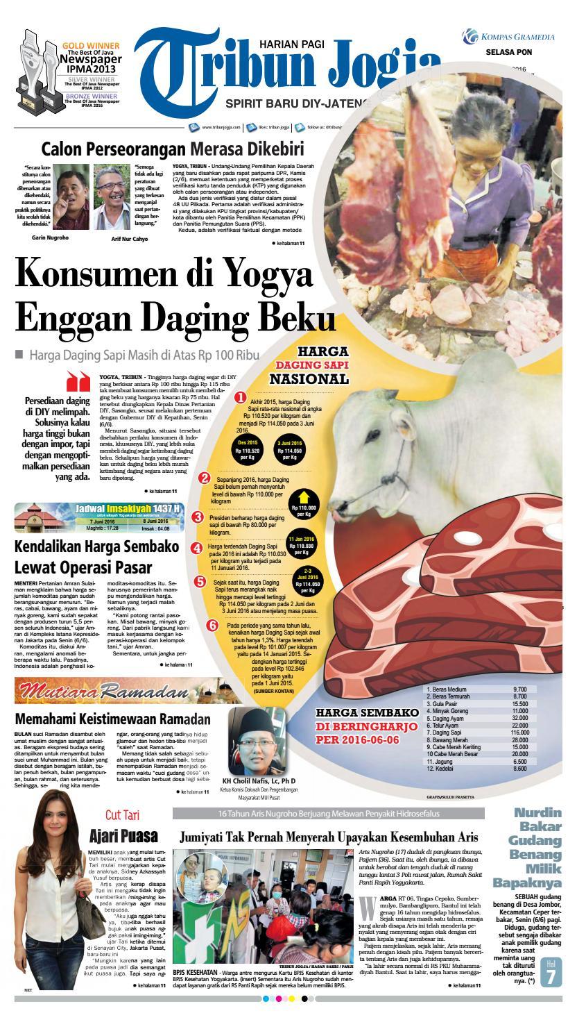 Tribunjogja 07 06 2016 By Tribun Jogja Issuu Produk Ukm Bumn Bale Sehat Teh Rosella Merah 3 Box