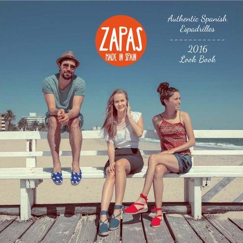 13aa28fe4ffd Zapas Espadrilles Catalogue 2016 by ZapasEspadrilles - issuu