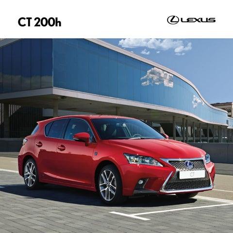 Bloqueo del volante antirrobo de alta seguridad doble barra para Lexus CT 11-On