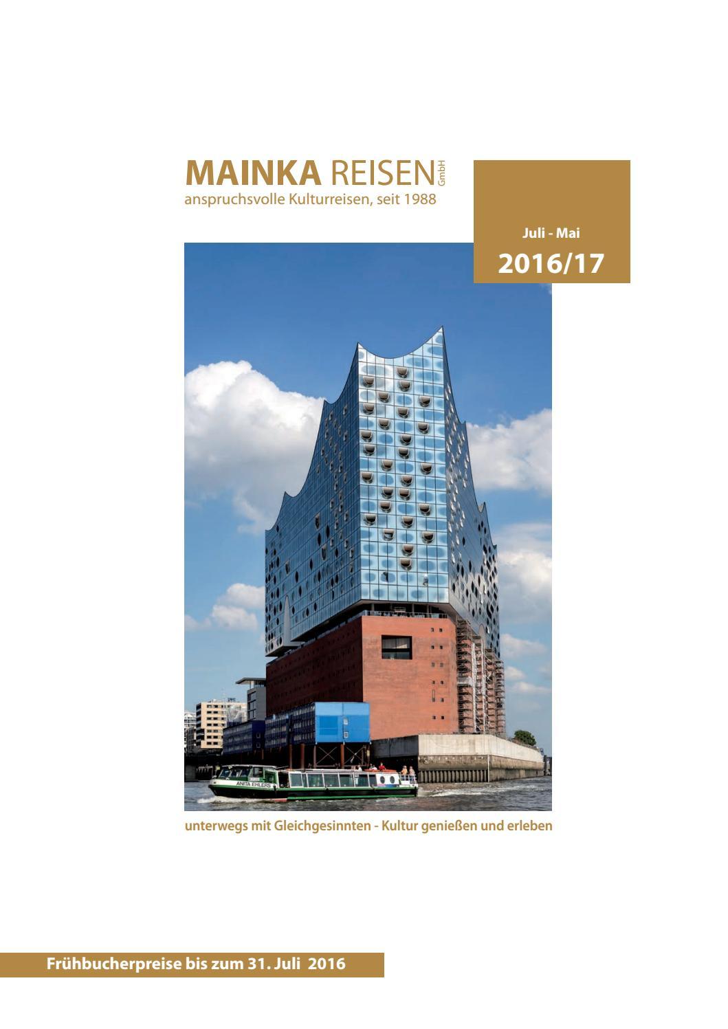 Mainka Reisen Katalog Winter 2016/2017 by Gerryland AG - issuu