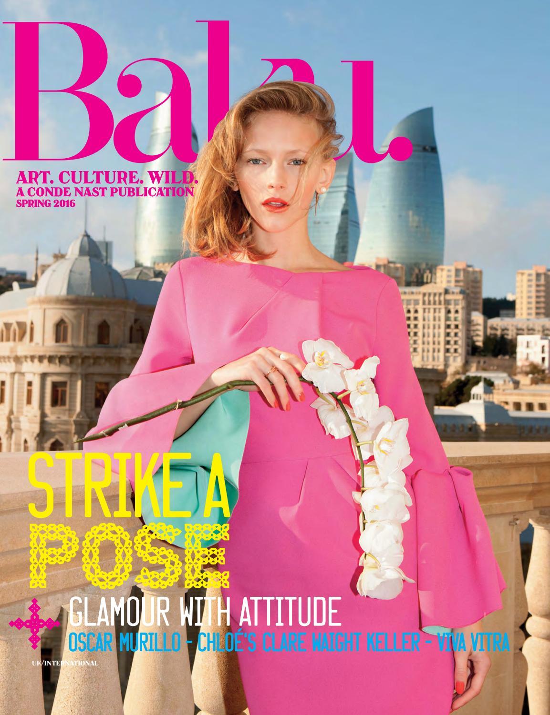 91c7a61edd6c Baku - Spring 2016 by Baku Magazine - issuu