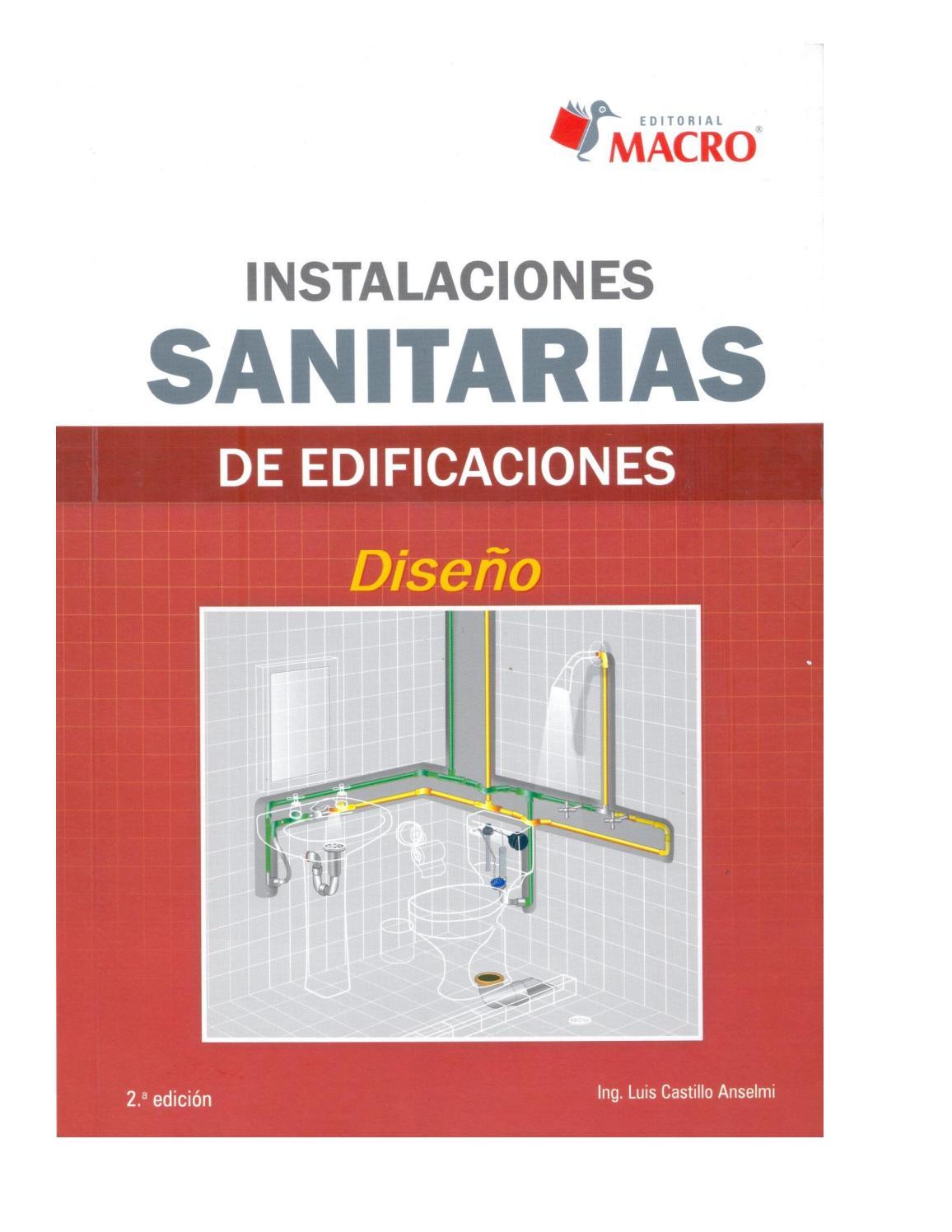 Instalaciones Sanitarias De Edificaciones Dise O De Luis