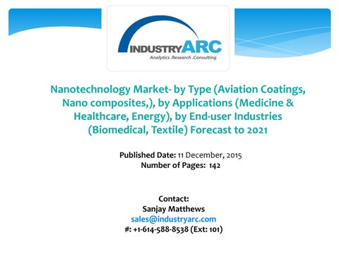 Nanotechnology Market: high nanotechnology uses in
