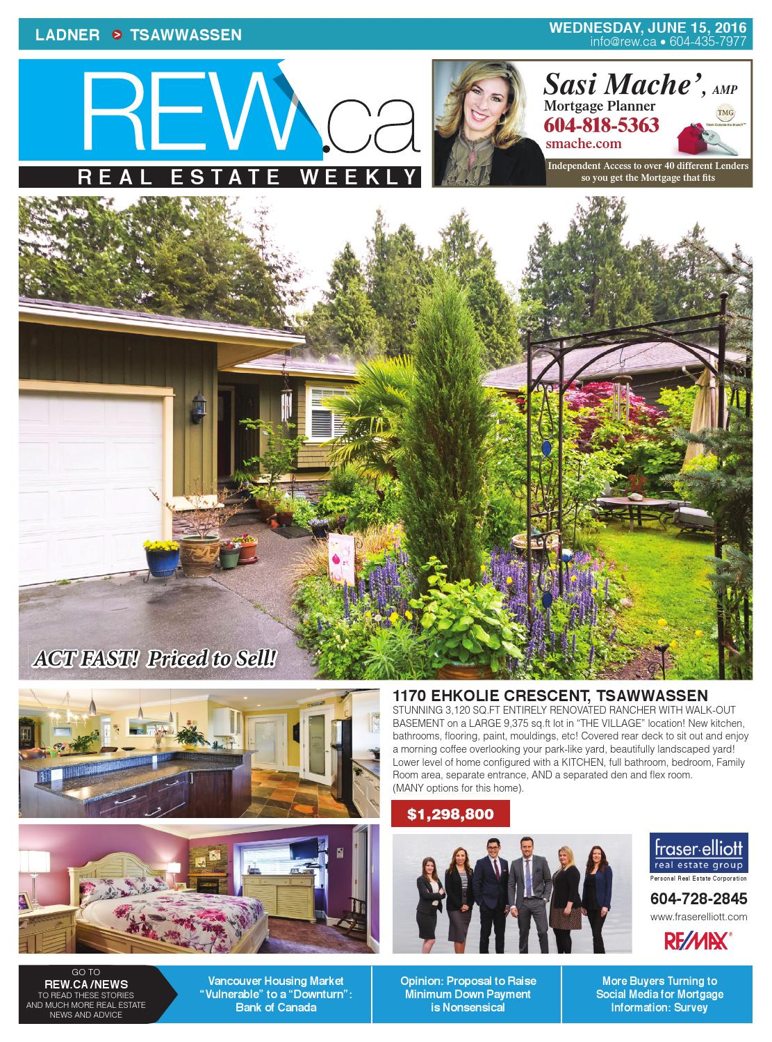 realtor and interior designer debbie evans realtor interior design consultant remax west LADNER - TSAWWASSEN Jun 15, 2016 Real Estate Weekly by Real Estate Weekly -  issuu
