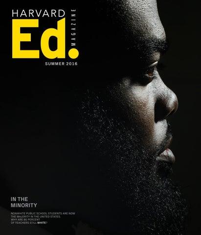 Harvard Ed. Magazine, Summer 2016