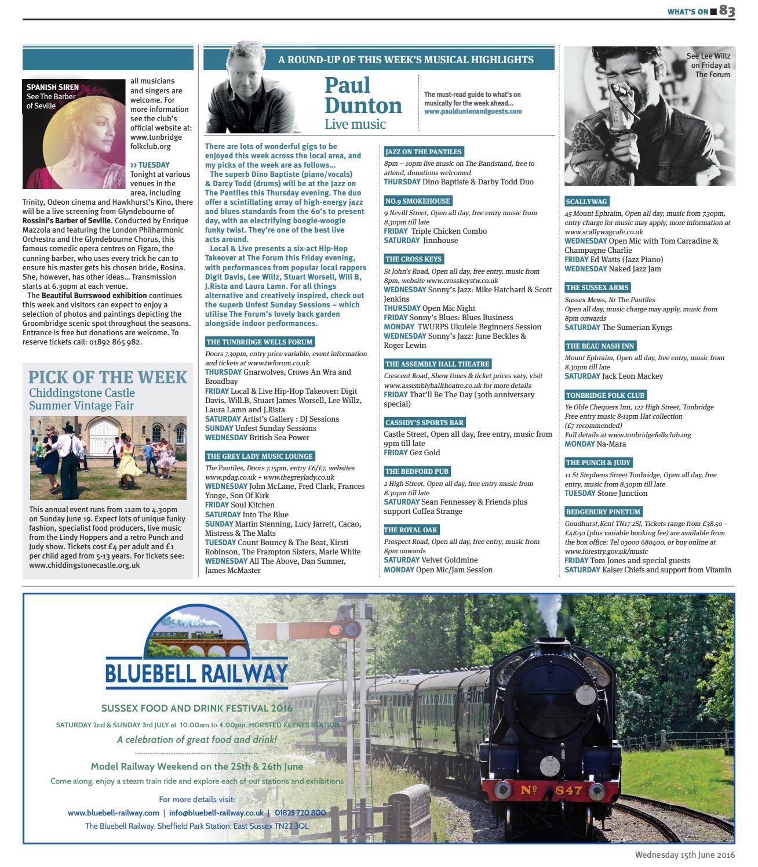 Times of Tunbridge Wells 15th June 2016 by One Media - issuu
