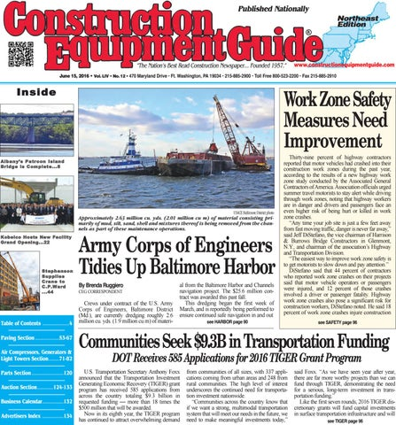 Northeast 12 2016 by construction equipment guide issuu page 1 fandeluxe Images