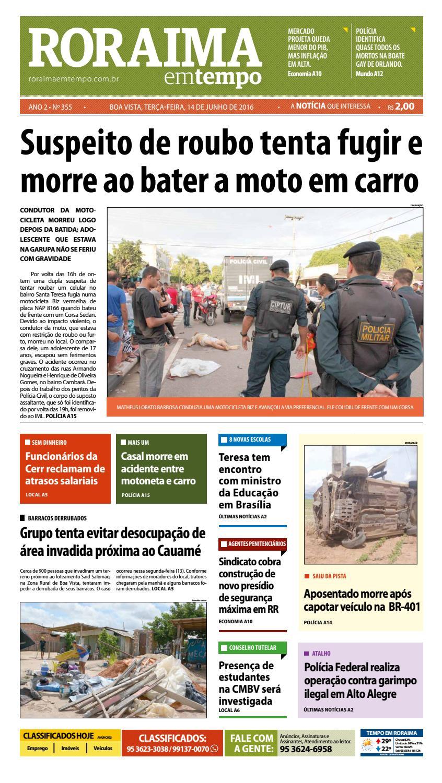 d465807ee8 Jornal roraima em tempo – edição 355 – período de visualização gratuito by  RoraimaEmTempo - issuu