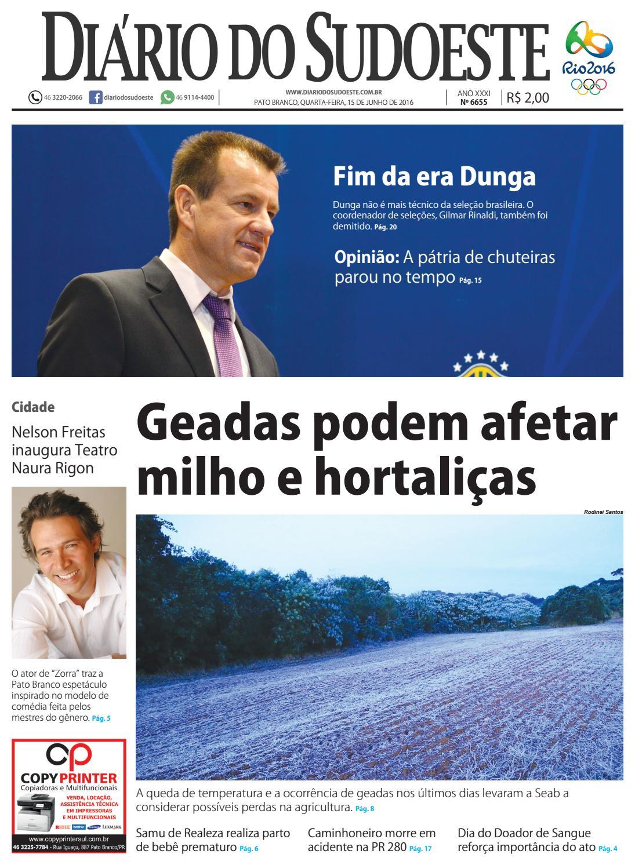 6de2ca559 Diário do sudoeste 15 de junho de 2016 ed 6655 by Diário do Sudoeste - issuu