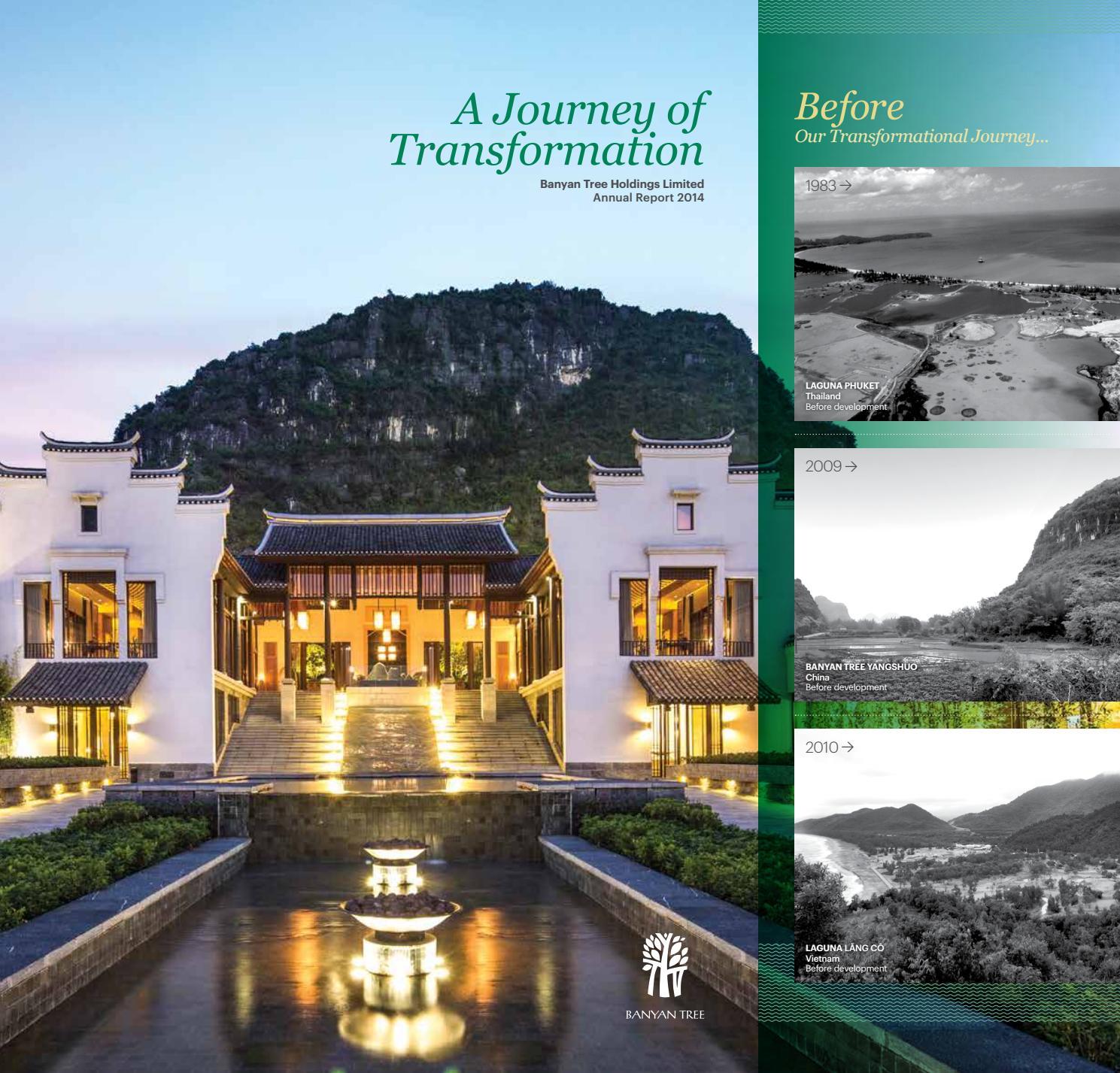Banyan Tree Apartments: Banyan Tree Hotels And Resorts Anual Report (11) By Laguna
