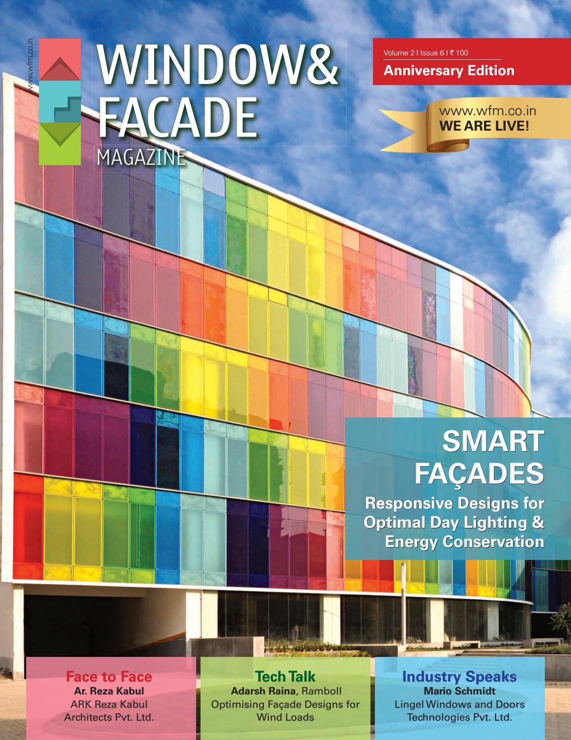 Window Facade Magazine 2nd Anniversary Issue By F F