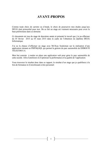 Mon Rapport By Abdoulfatah Issuu