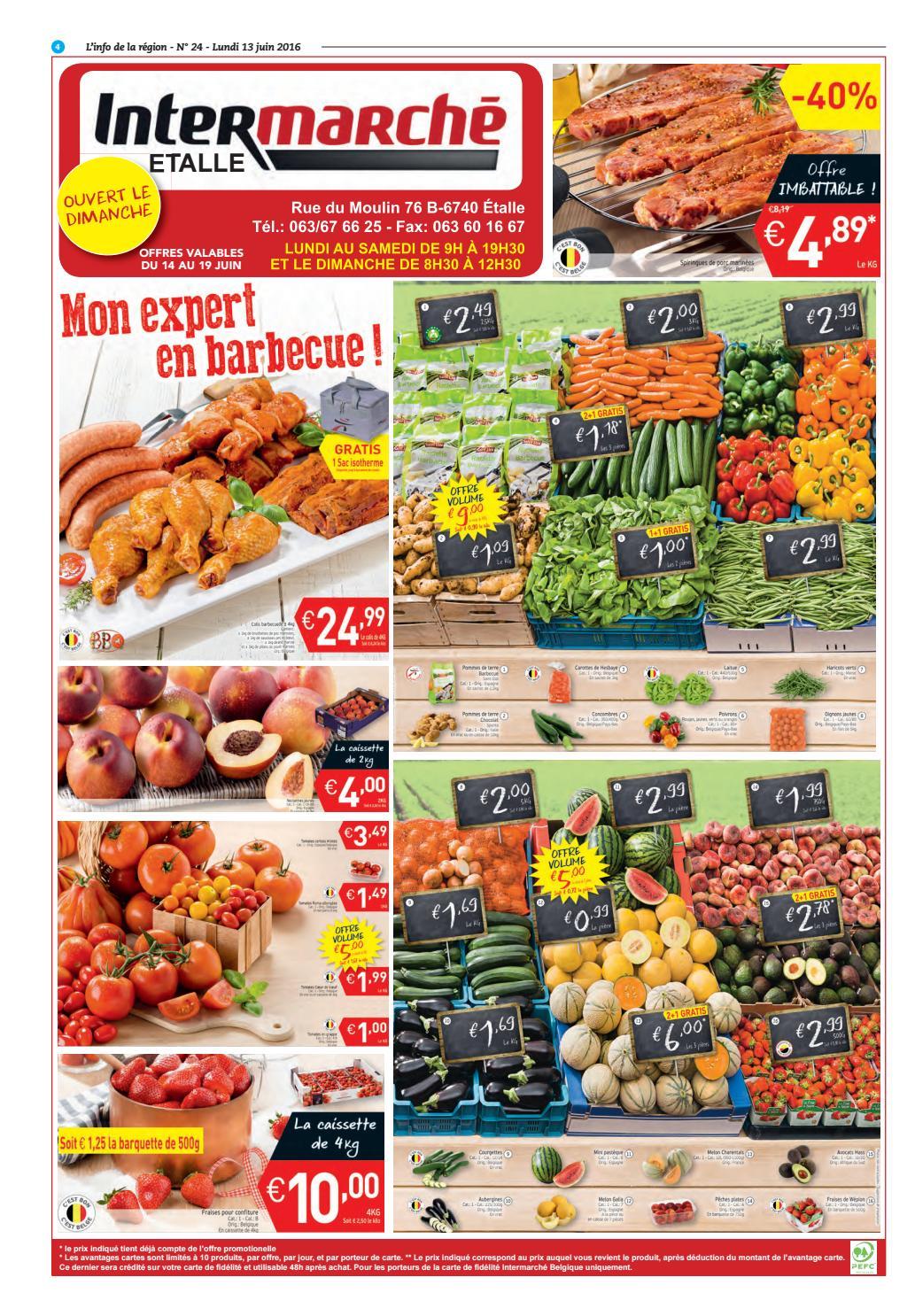 Carte Intermarche Belgique.Info 13 Bd By Inside Issuu