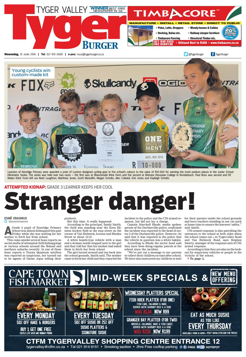 TygerBurger Tyger Valley 20160615 by Tygerburger Newspaper