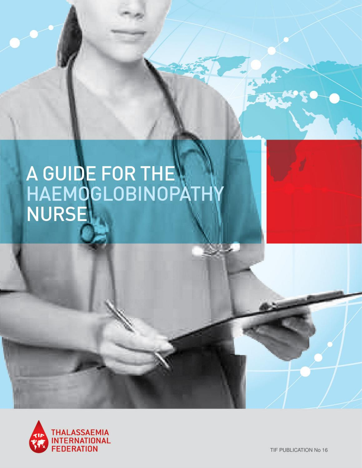 A Guide for the Haemoglobinopathy Nurse (2013) - English by