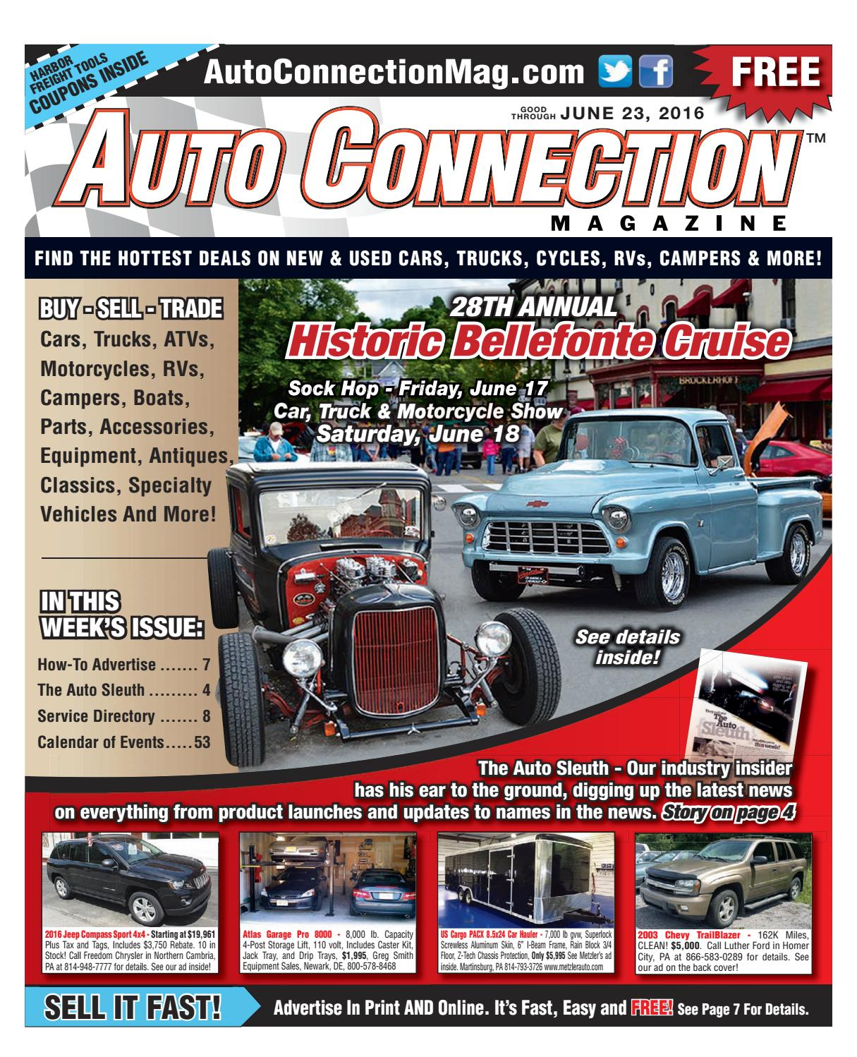 06-23-16 Auto Connection Magazine by Auto Connection Magazine - issuu